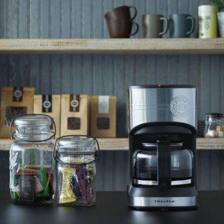 recolte|レコルト 本格コーヒーが楽しめるドリップ式コーヒーメーカー ホームコーヒースタンド 600ml