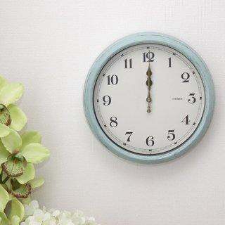 落ち着いた雰囲気を持つレトロフェイスな電波時計 エアリアルレトロ 掛け時計