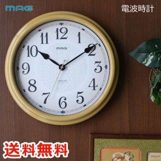 【送料無料】MAG 電波掛時計 いろは 電波時計 壁掛け時計 掛け時計 掛時計  時計 電波 静音 クロック秒針 スムーズ 和室 リビング 寝室 子供部屋 デザイン お洒落 雑貨 インテリア