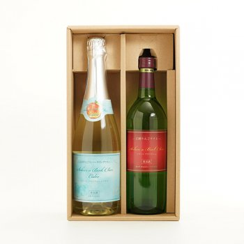 【江刺りんごワイン】ソラーレ・アビルクシェ(ワイン&シードルセット)