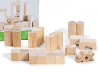 BLOCKS・スターターセット・小 白木の積み木セット