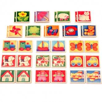ペアカード  selecta/セレクタ社の木製メモリーカード