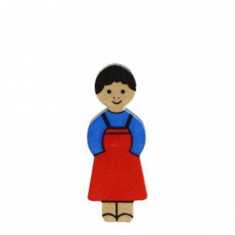 A女の子/  アルビスブランの動物積み木