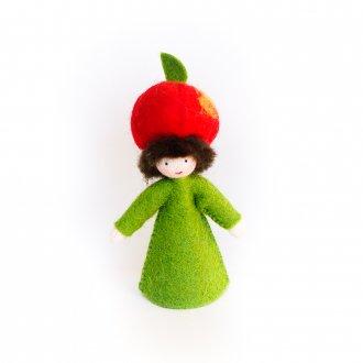 りんごの男の子 ホワイト Ambrosius Doll/アンブロシウス ドール 秋