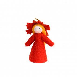 秋の葉の女の子  ホワイト Ambrosius Doll/アンブロシウス ドール 秋の妖精