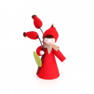 ローズヒップの男の子  ホワイト Ambrosius Doll/アンブロシウス ドール 秋の妖精