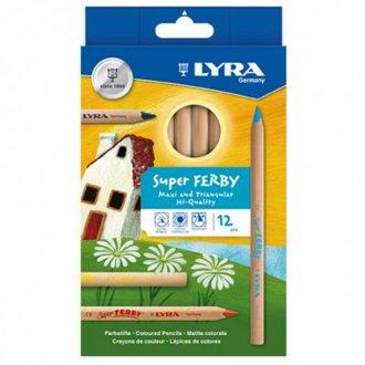 ファルビー軸白木 12色セット LYRA/リラ社