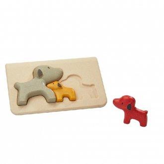イヌのパズル PLAN TOYS/プラントイ社