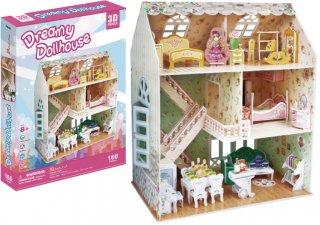 3Dパズル ドールハウス-ドリーミーハウス