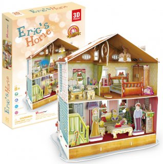 3D パズル クリスマス Eric's Home