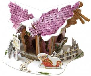 3D パズル クリスマス・コテージ2