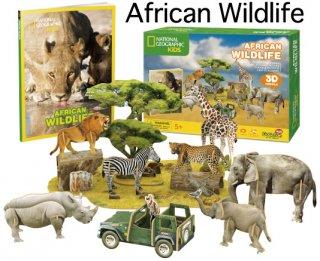 3D パズル アフリカン ワイルドライフ(アフリカの野生生活)
