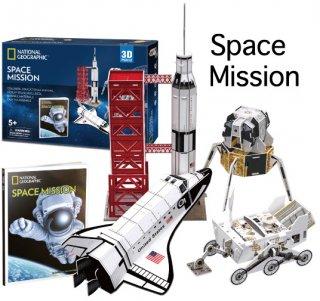 3D パズル スペースミッション(宇宙任務)