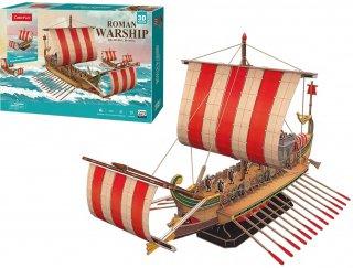 3Dパズル ローマン ワーシップ(古代ローマの軍艦)