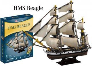 3Dパズル HMSビーグル