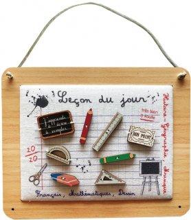 フランス・木製ボタンフレームキット - 今日の授業