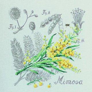 壁掛け Etude au Mimosa(ミモザのエチュード) クロスステッチキット