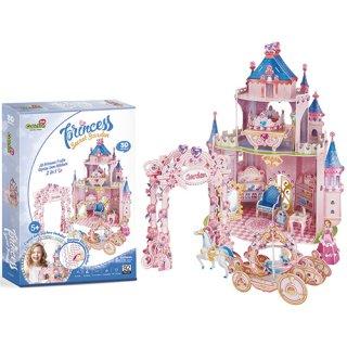 3Dパズル ドールハウス-プリンセス シークレットガーデン