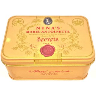 NINA'S(二ナス) Royal box for tea ティーバッグ缶