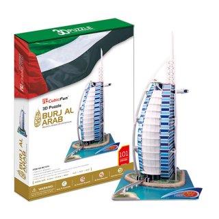 3Dパズル ブルジュアルアラブ ビックサイズ