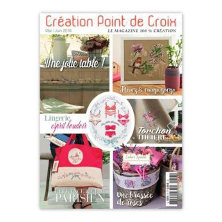 CREATION POINT DE CROIX 2016年5/6月号