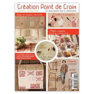 CREATION POINT DE CROIX 2016年9/10月号