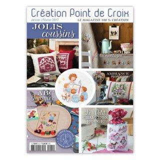 CREATION POINT DE CROIX 2017年1/2月号