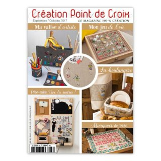 CREATION POINT DE CROIX 2017年9/10月号