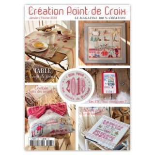 CREATION POINT DE CROIX 2018年1/2月号