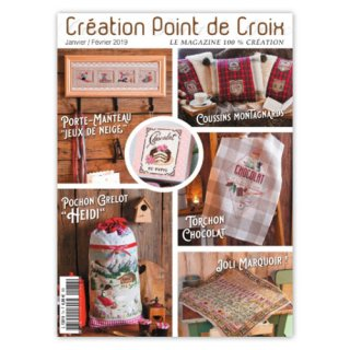 CREATION POINT DE CROIX 2019年1/2月号