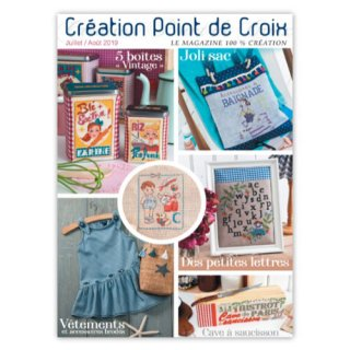 CREATION POINT DE CROIX 2019年7/8月号
