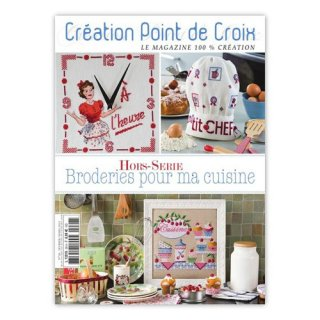 CREATION POINT DE CROIX Broderies pour ma cuisine キッチン