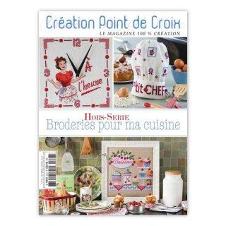 CREATION POINT DE CROIX Broderies pour ma cuisine キッチン