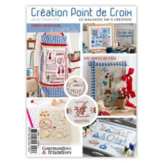 CREATION POINT DE CROIX 2016年1/2号