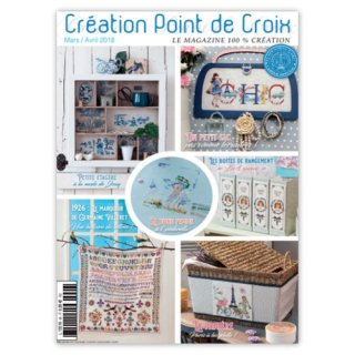 CREATION POINT DE CROIX 2018年3/4号