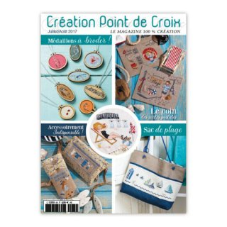 CREATION POINT DE CROIX 2017年7/8月号