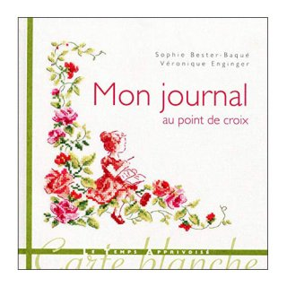 Mon joural au point de croix クロスステッチ洋書