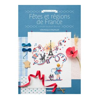MANGO Fetes et regions de France Veronique Enginger クロスステッチ洋書