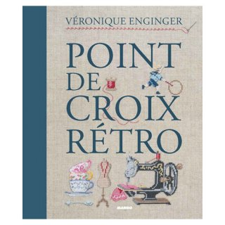 MANGO POINT DE CROIX RETRO Veronique Enginger クロスステッチ洋書