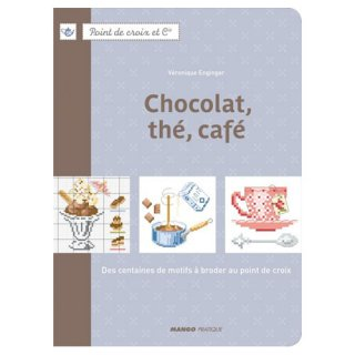 MANGO Chocolat, the ,cafe  Veronique Enginger クロスステッチ洋書