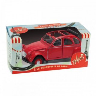 enesco エネスコ インテリア置物 赤い車 中
