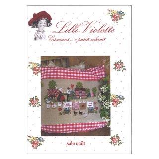 Lilli Violet リリーバイオレットSale quilt アンティークキルト クロスステッチ図案