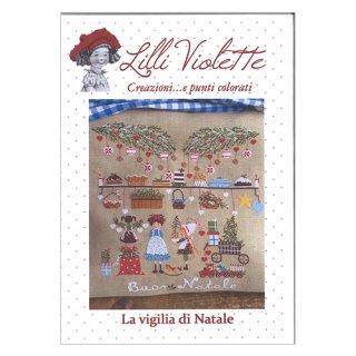 Lilli Violet リリーバイオレット La Vigilia di natale クリスマスイブ クロスステッチ図案