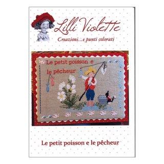 Lilli Violet リリーバイオレットLe Petit poisson 小さな魚 クロスステッチ図案