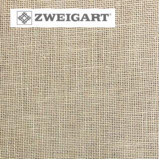 【ドイツ】ツバイガルト(ZWEIGART)クロスステッチ用生地 カシェル リネン28カウント ベージュ(50x140cm)