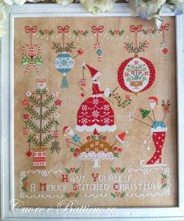 クロスステッチ図案 Natale Ricamato クリスマス刺繍