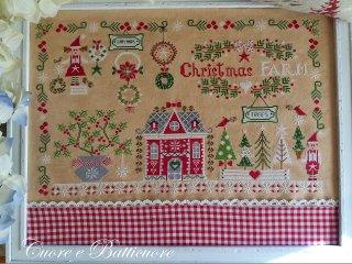 クロスステッチ図案 Christmas Farm クリスマスファーム