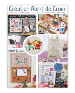 CREATION POINT DE CROIX 2018年9/10月号 クロスステッチ洋書