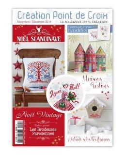 CREATION POINT DE CROIX 2014年11/12月号 クロスステッチ洋書