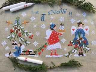 Lilli Violet リリーバイオレット  let is snow!! 雪にしよう!!